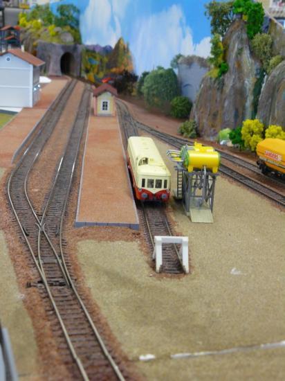 Le Plan de voies de la gare lors de sa construction