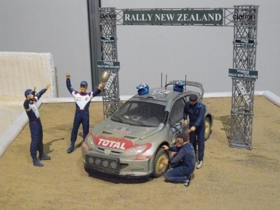 diorama rallye