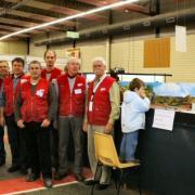 L'équipe présente à Cholet en 2009 avec Antoine Limousin