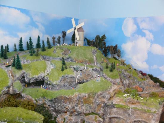 Le moulin à vent et son environnement
